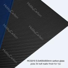 L'offre de coupe de commande numérique par ordinateur offre des feuilles de fibre de carbone composites élevées