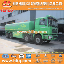 cheap price SHACMAN F3000 8x4 30000L drinking water truck good quality hot sale in China ,manufacture