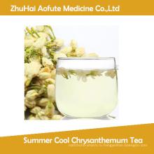 Летний прохладный чай хризантемы