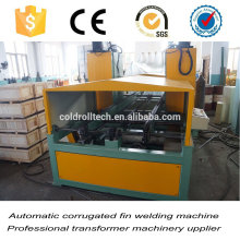 Automatic Corrugated Fin Seam Welding Machine Tig welding
