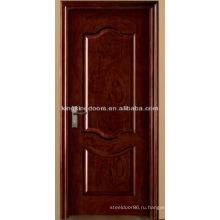 Дешевые деревянные двери коммерческие MJ-202 с твердой древесины краска для спальни и ванной комнаты