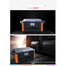 Central eléctrica de caja de batería portátil