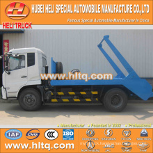 10cbm DONGFENG 4x2 190hp arm roll garbage truck for sale skip garbage truck sanitation vehicle discount price factory sale