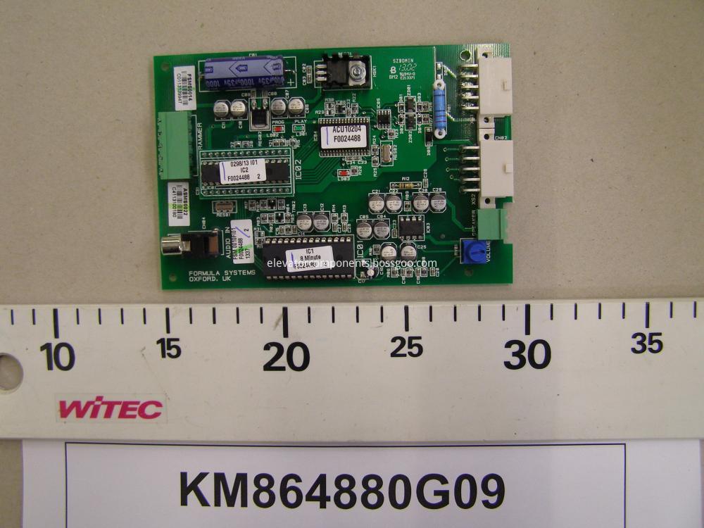 KONE Lift DCSACU Board KM864880G09
