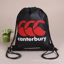De Buena Calidad Nuevo bolso de empaquetado respetuoso del medio ambiente del cordón de la prenda impermeable del diseño