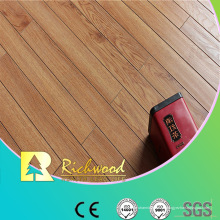 12mm E0 HDF AC4 en relieve Hickory V-Grooved piso laminado