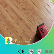 12mm E0 HDF AC4 Embossed Hickory V-Grooved Laminated Floor