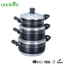 Pressed Ceramic Heat Resistant 6Pcs Sauce Pot