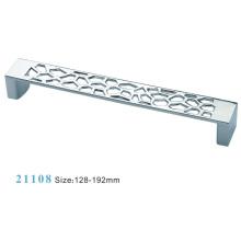 Poignée d'armoire de meuble en alliage de zinc (21108)