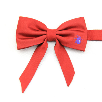 Hot Selling Silk Woven Double Bow Tie