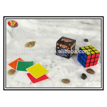 Black Plastic Magic Cubes magical speed puzzle