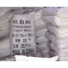 Titandioxid (Summenformel: TiO & sub2;)