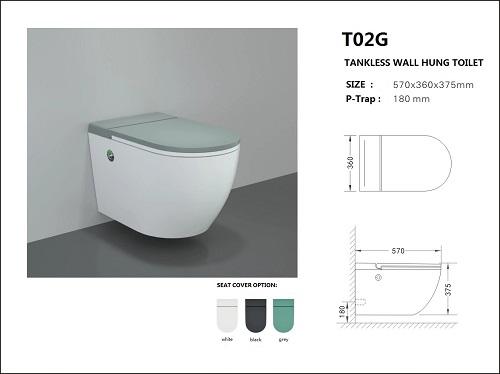 water saving smart wc toilet