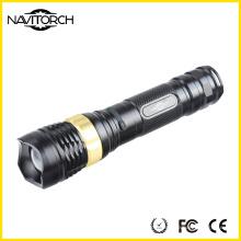 Lanterna elétrica recarregável do diodo emissor de luz do CREE XP-E 460lm / 700m (NK-2668)