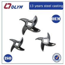 OEM 316 stainless steel investment casting meat mincer spare parts
