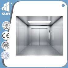 CE утвержден скорость 0,5 м/с сталь окрашенная грузовой лифт