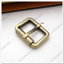 Custom metal buckle for handbag and belt