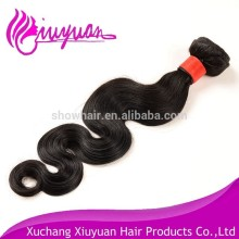 Sale brazilian human hair sew in weave unprocessed virgin body wave