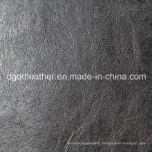 Good Colour Fastness Furniture Leather (QDL-50304)