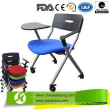 Chaise de formation de haute qualité / chaise de réunion avec bloc-notes