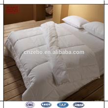 Фабрика оптового супер кровати королевы постельных принадлежностей устанавливает гостиницы гусыни вниз пуховые одеяла