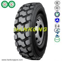 Rodas caminhão pesado pneu caminhão de mineração pneu off road pneu (11.00R20, 12.00R20, 14.00R20, 14.00R24)