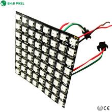 8x8 flexível conduziu a entrada endereçável da baixa tensão DC5V da matriz SK6812 5050 RGB
