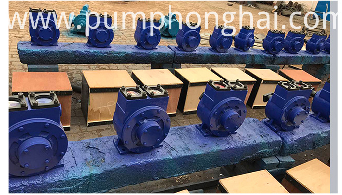 Self-priming Vane Oil Pump