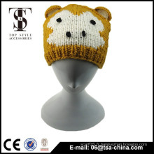 Monkey design tricot coloré bébé chapeau