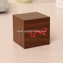 Custom Wooden Digital Alarm Clock W/ Your Logo