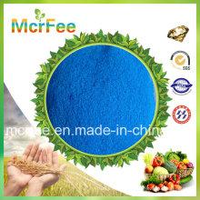 Sulfate de cuivre en haute qualité en poudre / granulaire Min 98%