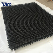 Low Price quarry screen Crimped mesh
