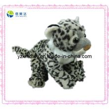 Pequena pelúcia Leopard Keychain Toy Animal