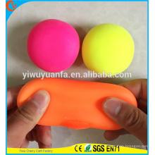 Высокое качество новый дизайн красочные стрейч мяч игрушки для детей