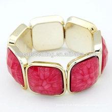 Bangles et bracelets multicolores Bracelets acryliques transparents