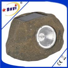 Lumière de jardin, LED, Lampe, Lampe solaire, Coper Brown