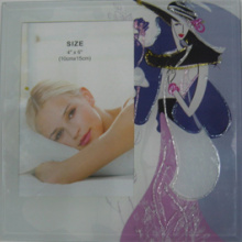 New Design Of Silk Screen Glass Photo Frame