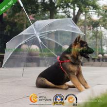 Nouveau point 17inch Poe parapluies pour animaux de compagnie (PET-0017Z)