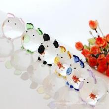 Figurines de animales de cristal decoración del hogar Hecho en China