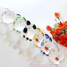estatuetas animais de vidro para decoração de casa Made in China