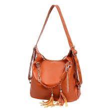 Ladies PU Casual Handbag and Shoulder Bag with High Quality