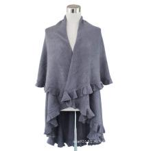 Леди мода акриловые кашемир Пашмины вязаный зимний шарф шали (YKY4101)