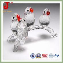 Ornamento de cristal europeo del pájaro (JD-CA-107)