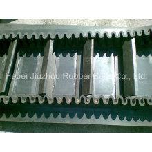Reinforced Textile Sidewall Corrugated Conveyor Belt