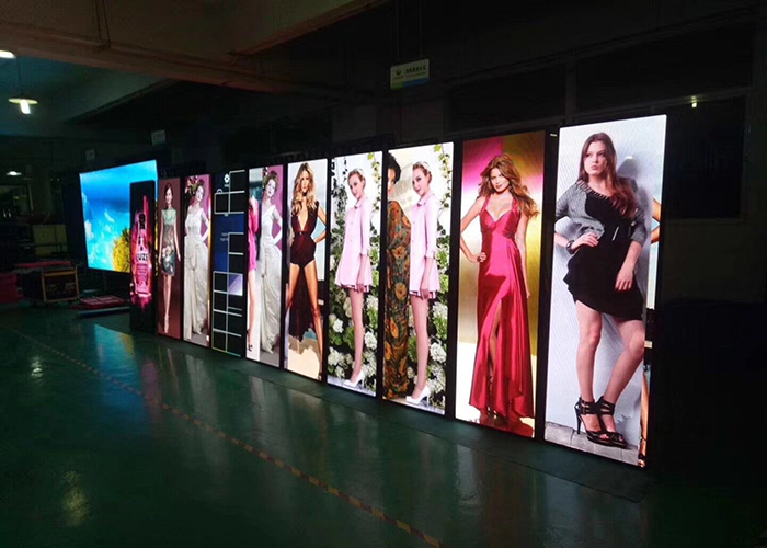 Advertising Super Thin LED Poster Display