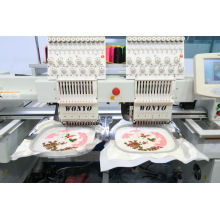 High Speed ​​Double Head Cap Stickmaschine Wy1202c