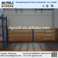 Estante de armazenamento de ferro de piso mezanino metálico