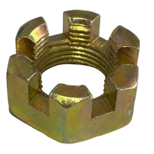 Factory High quality DIN935  slotted nut hex slotted castle nuts