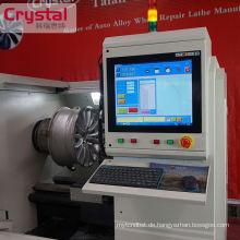Leichtmetallrad Reparatur Drehmaschine CNC / Diamant Cut Drehmaschine WRM28H