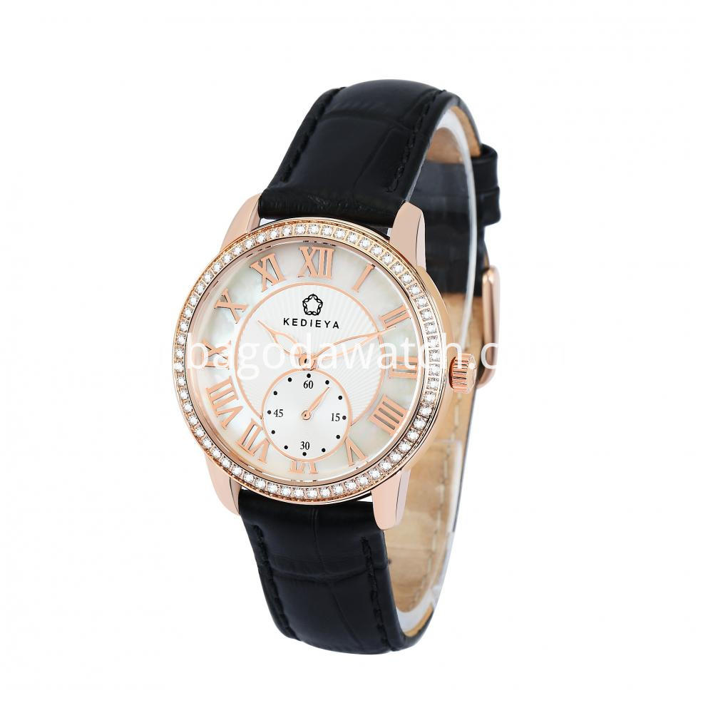 Leather Strap Watches Womens